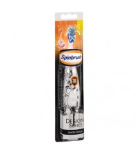 Arm and Hammer SPINBRUSH Toothbrush Limited Edition BLACK WHITE Soft